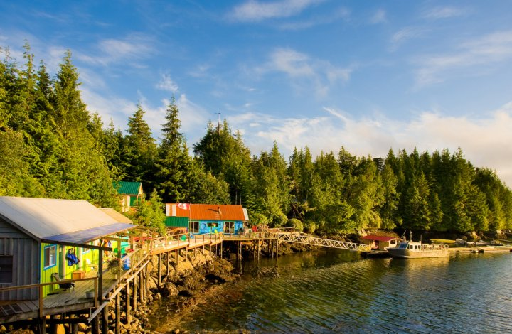 God's Pocket Resort on Hurst Island