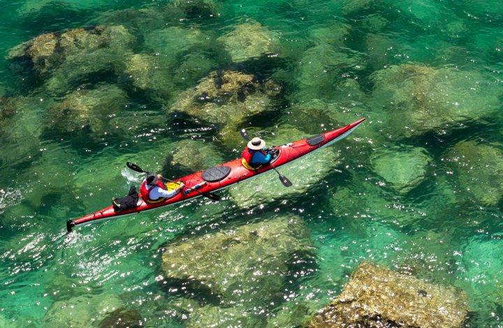 kayak san jose island baja