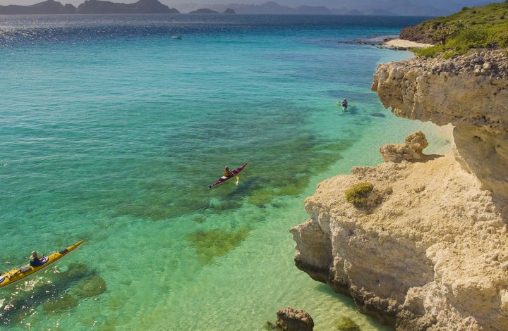sea kayaks in Loreto Baja