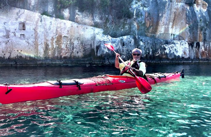 sea kayak in Turkey