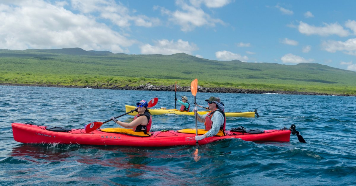 Galapagos By Kayak | Kayaking the Galapagos Islands | Sea