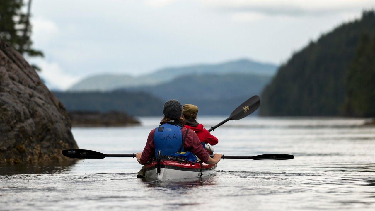 sea kayaks in british columbia