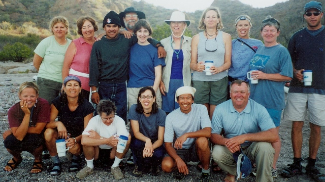 kayak group in baja
