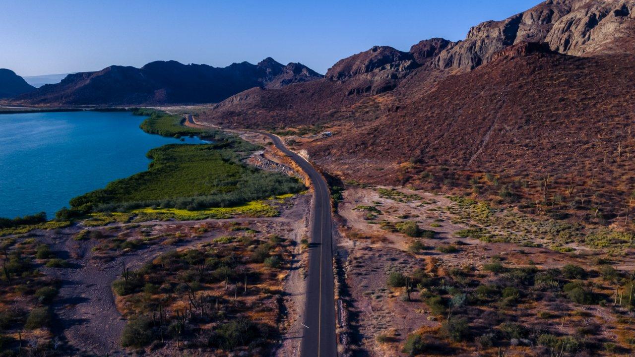 road in baja