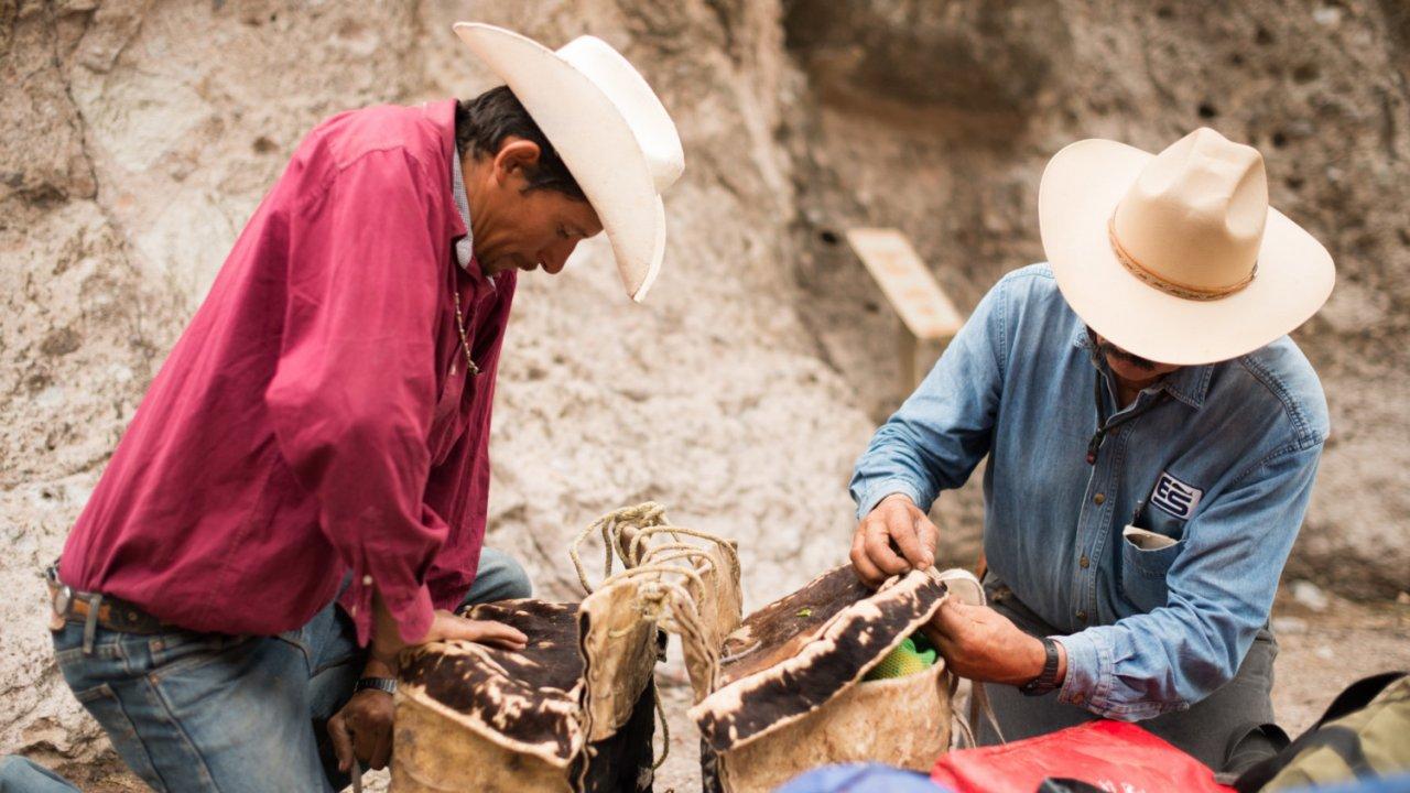 local cowboys in Baja