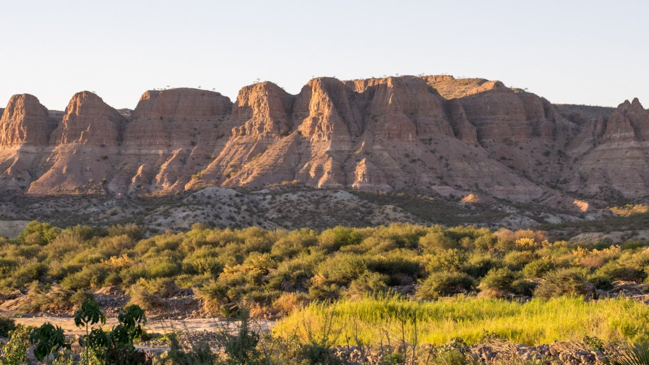 mountains in baja