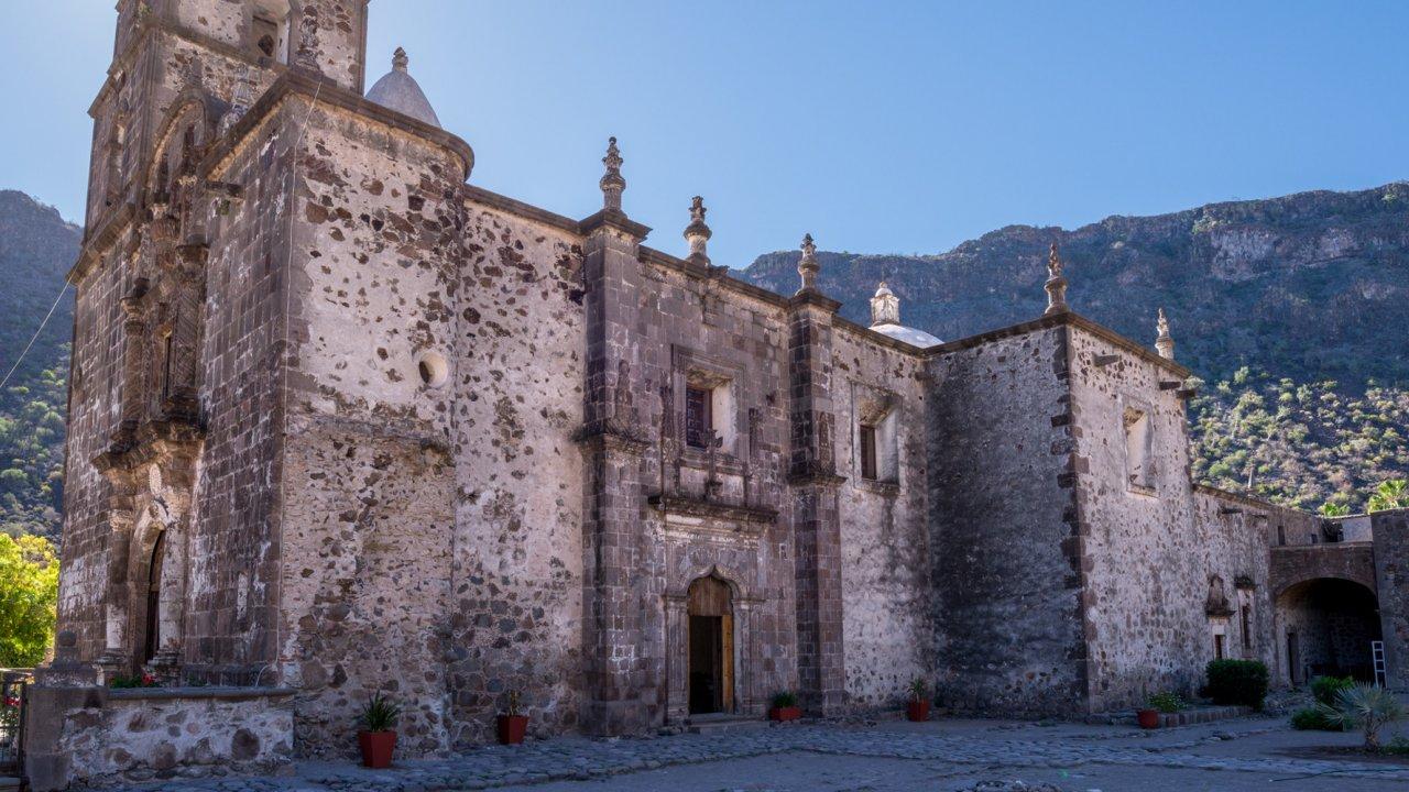 San Javier Mission in Baja California Sur