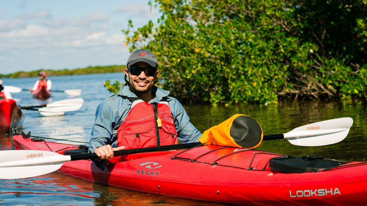 cuba kayaking