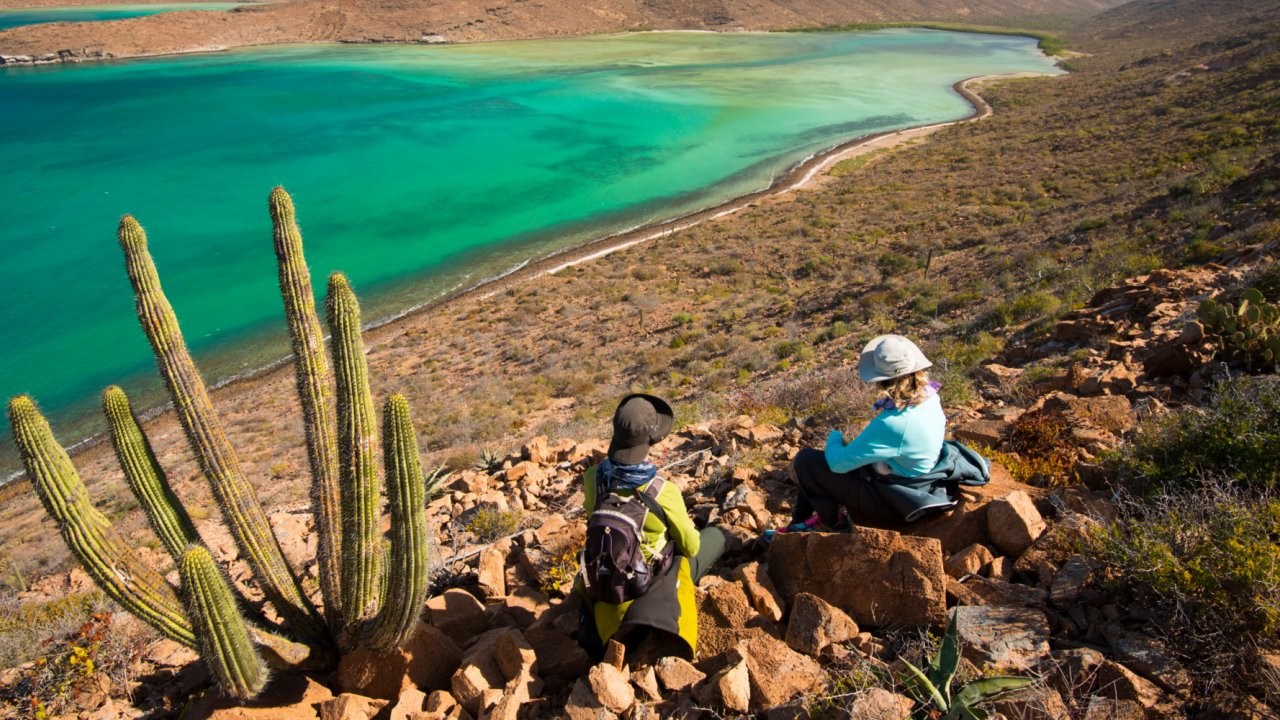 bay on Espiritu Santo Island, LaPaz Baja