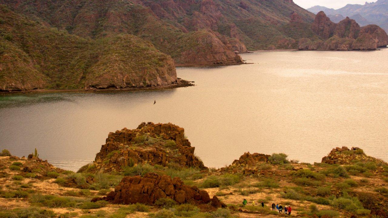 Danzante island near Loreto, Baja