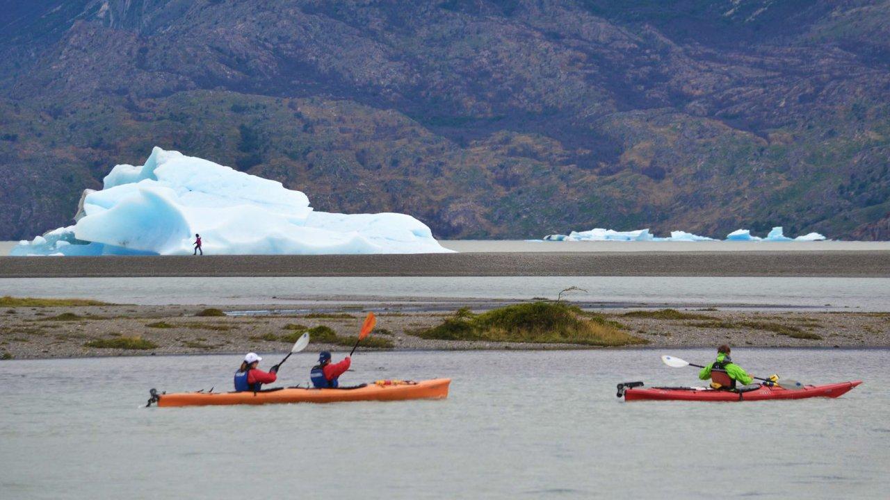 sea kayak in Patagonia