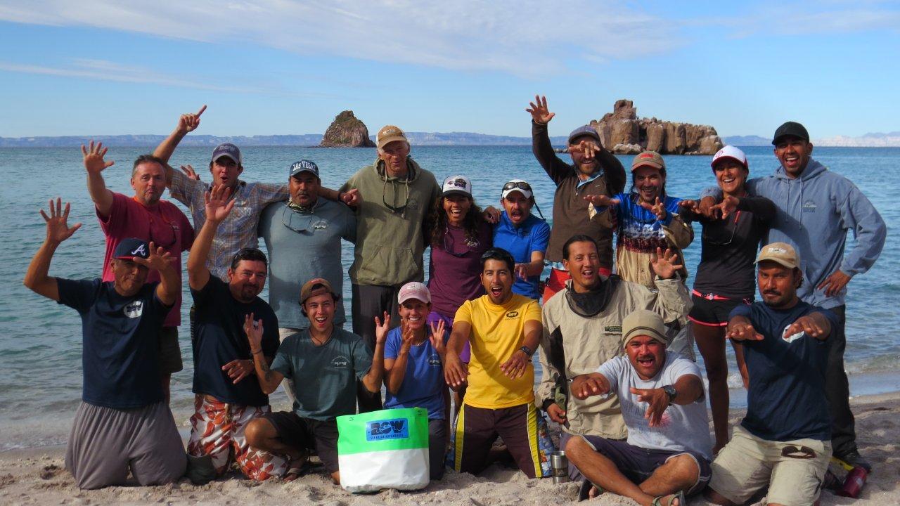 sea kayaking guides in baja
