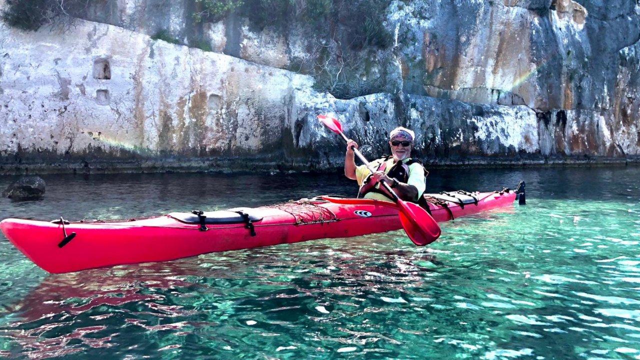 kayaking tour in Turkey