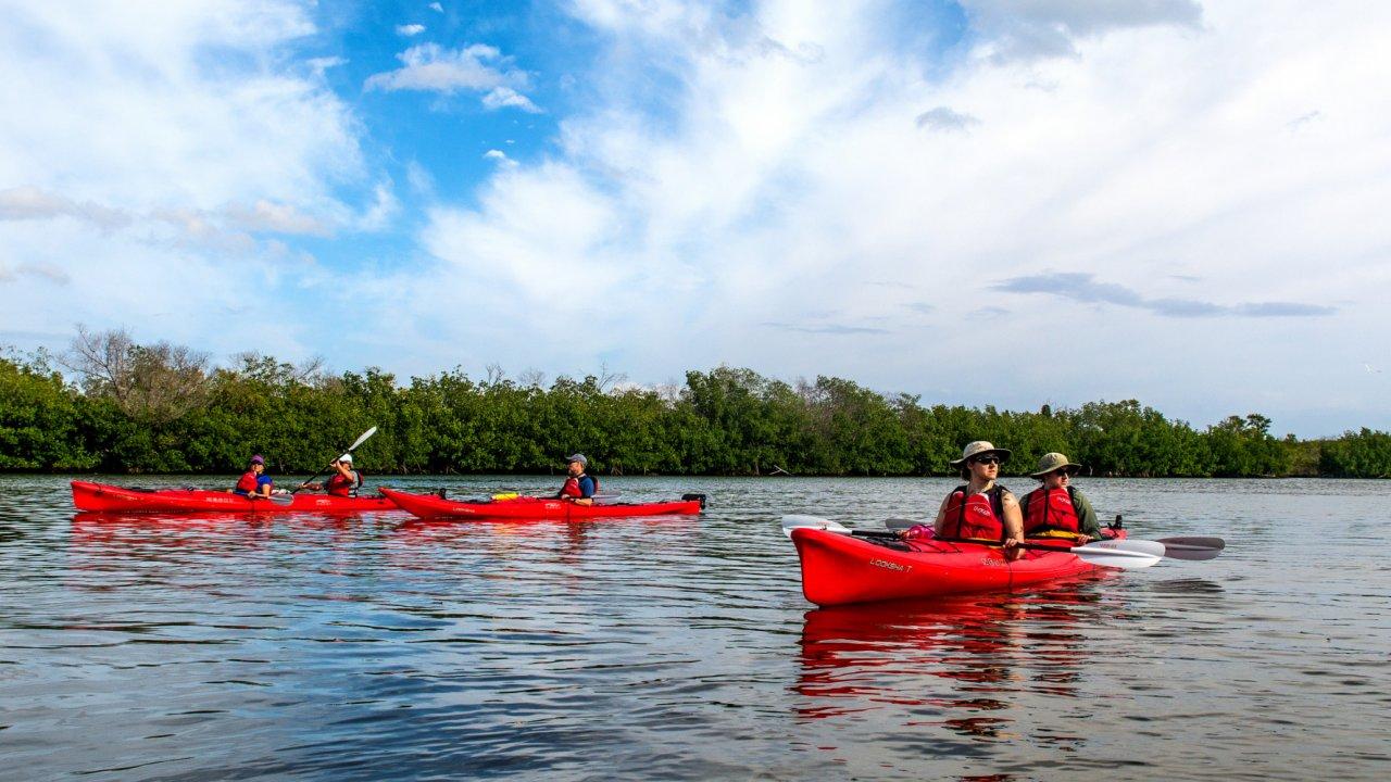 sea kayaks in cuba