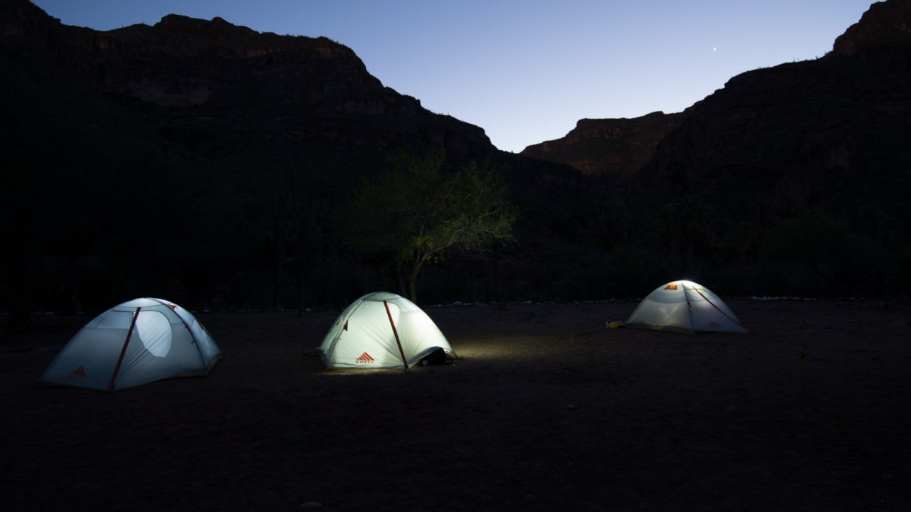 tents in baja