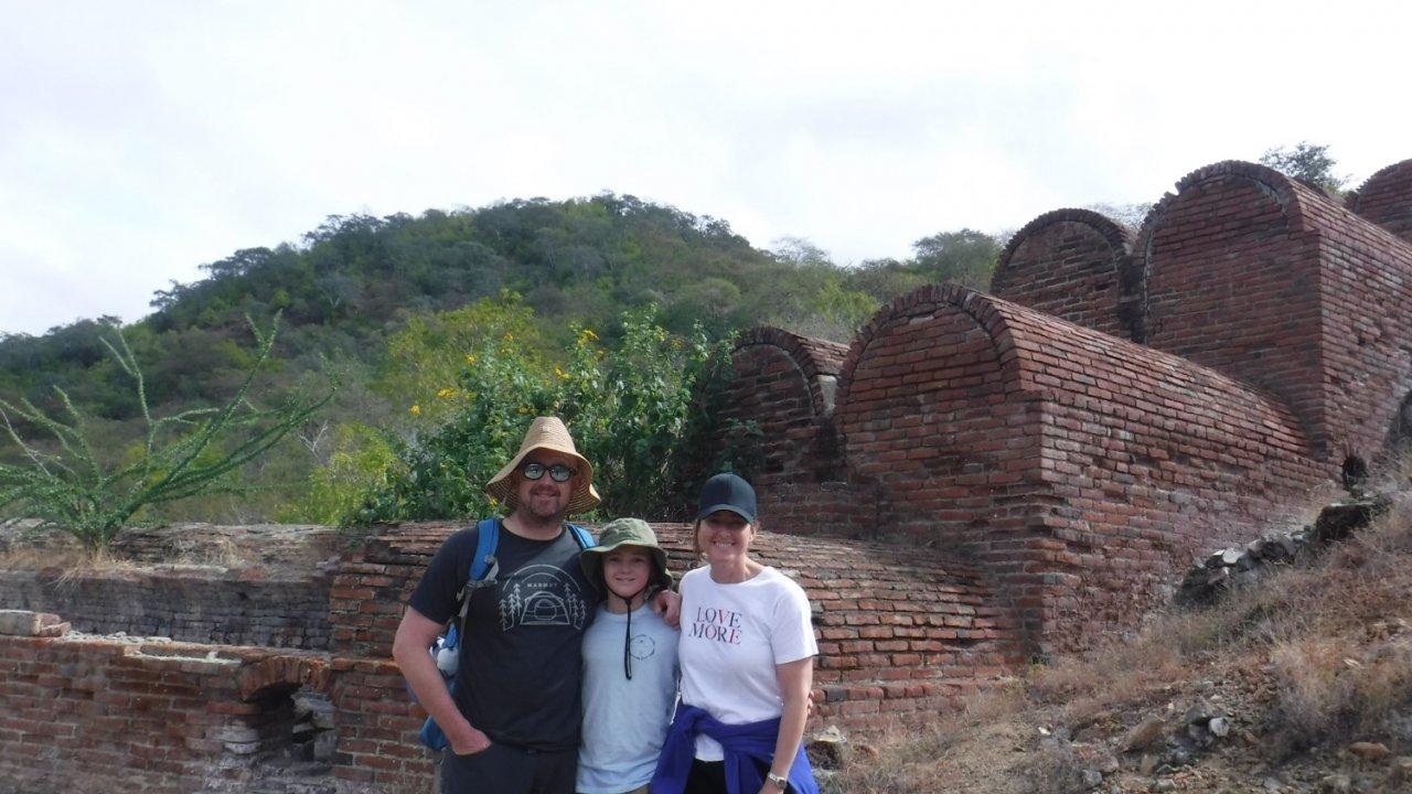 old mining town in Baja