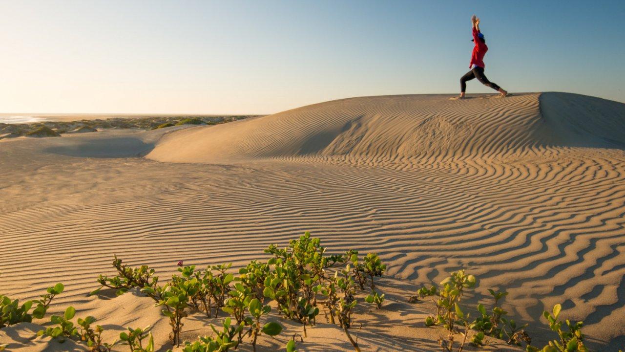 sand dunes magdalena Bay