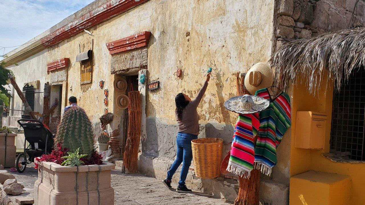 local merchant in Loreto, Baja