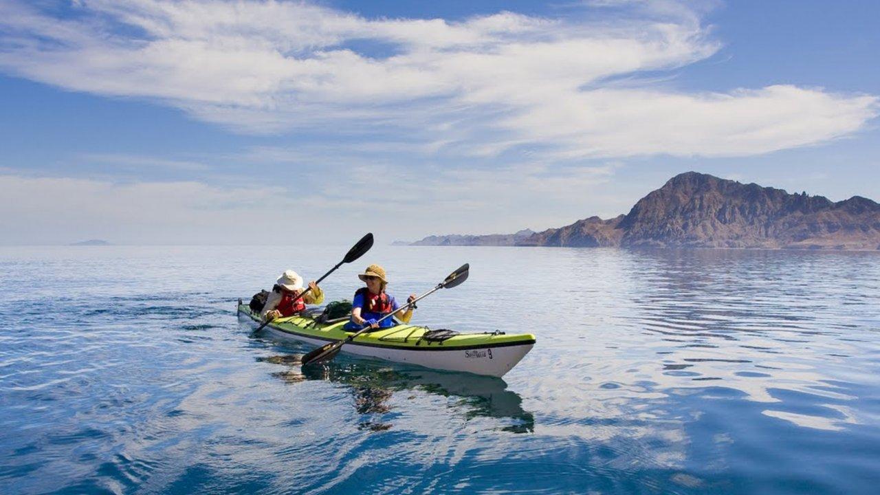 kayaking near Loreto baja