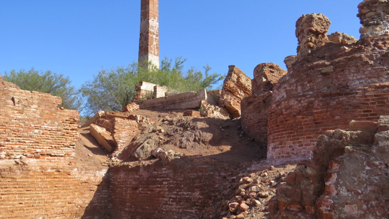 mining ruins in baja california sur