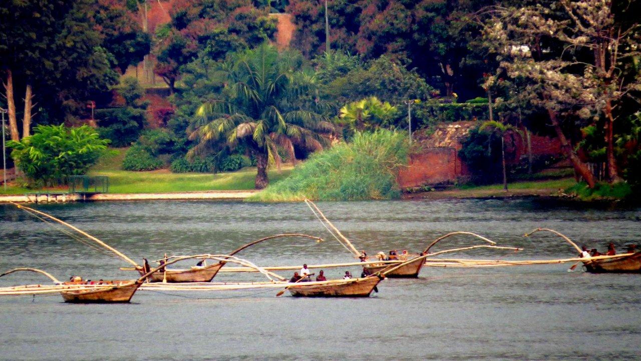 Boats in Rwanda