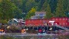 sea kayaks headed to telegraph cove, BC