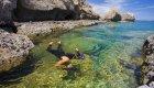 snorkeling in baja