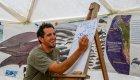 interpretive guiding presentation at whale camp