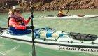 kayaker in baja