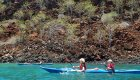 sea kayak near galapagos islands