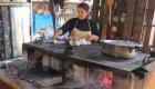 woman cooking tortillas in Baja