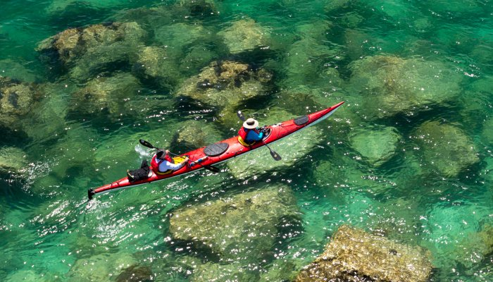 sea kayak in Baja