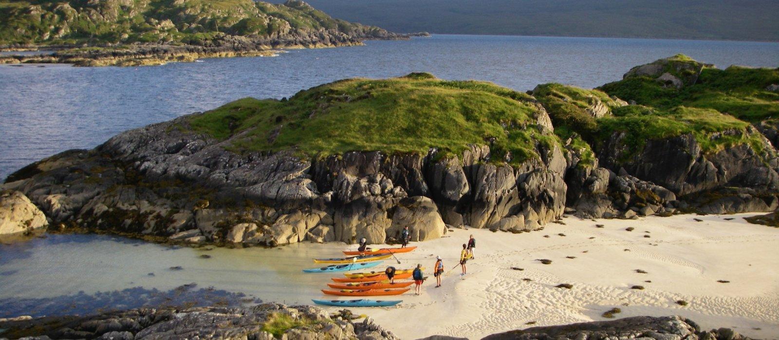 sea kayak scotland